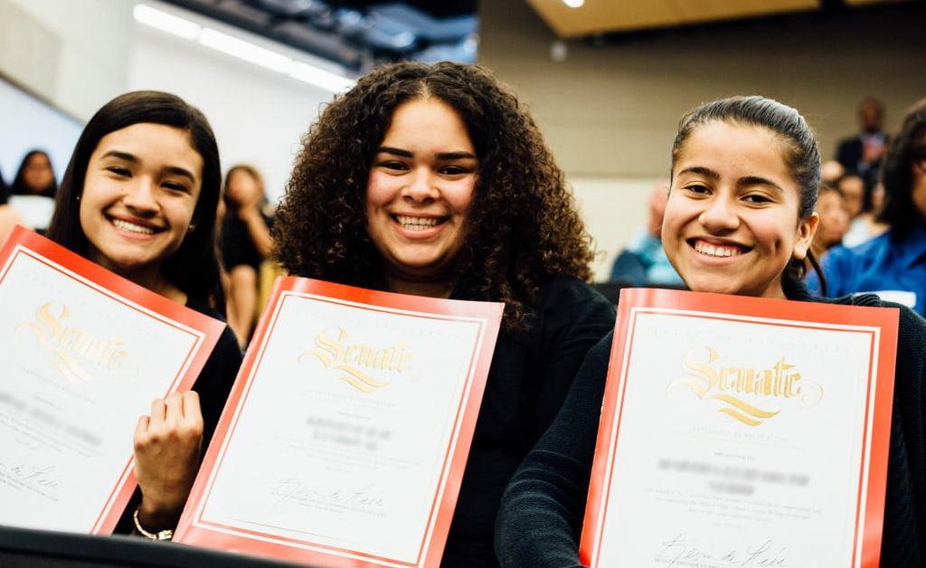 College Bridge - Symposium Girls