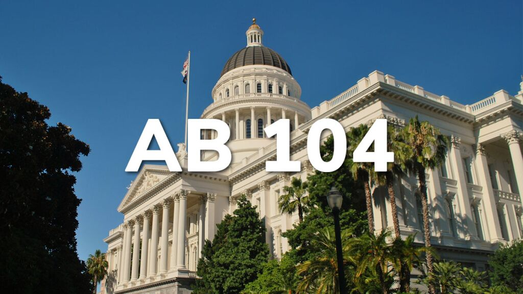The Impact of AB 104 on College Admissions